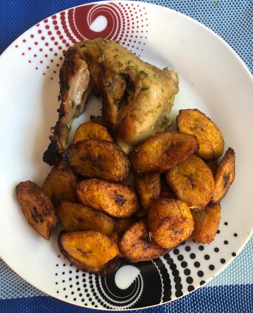Poulet grillé Alloco